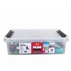 Plus-Plus GO!, Mini Mix- 2600 szt. 10 płytek 40 kół
