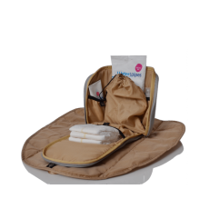Plecak dla mamy Hartland ze skóry ekologicznej, PacaPod