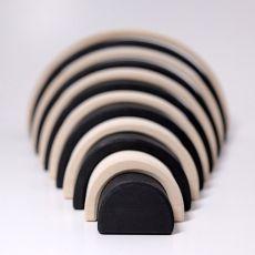 Tęcza, kolekcja naturalna 0+, monochromatyczna, Grimm's