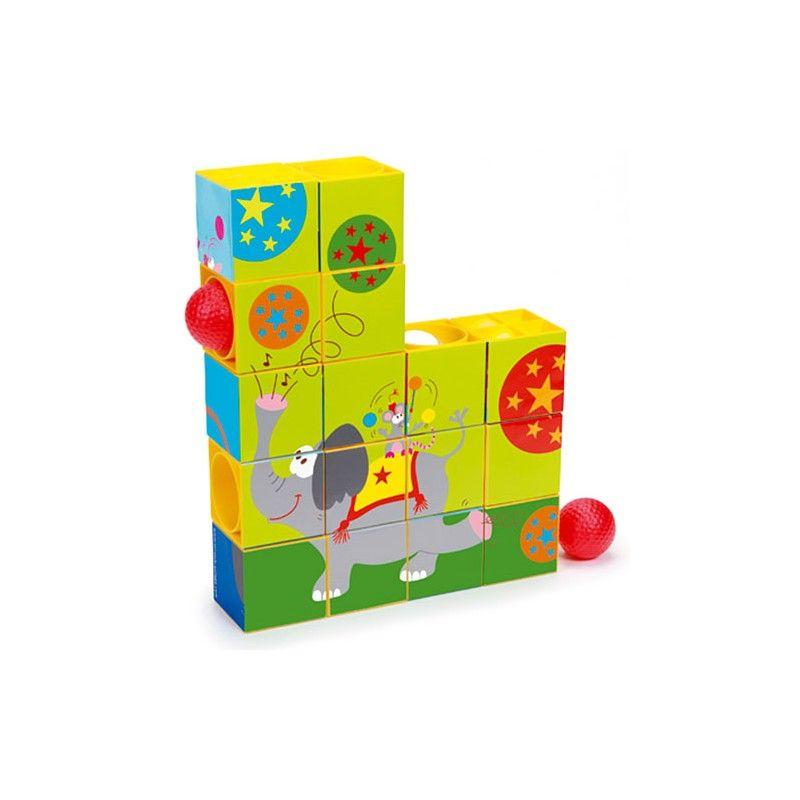 Puzzle 3D i Rollercoaster (z piłką)