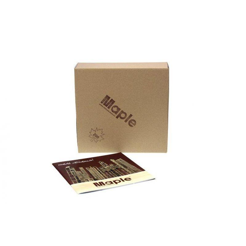 Klocki drewiane Maple Ecopack 300