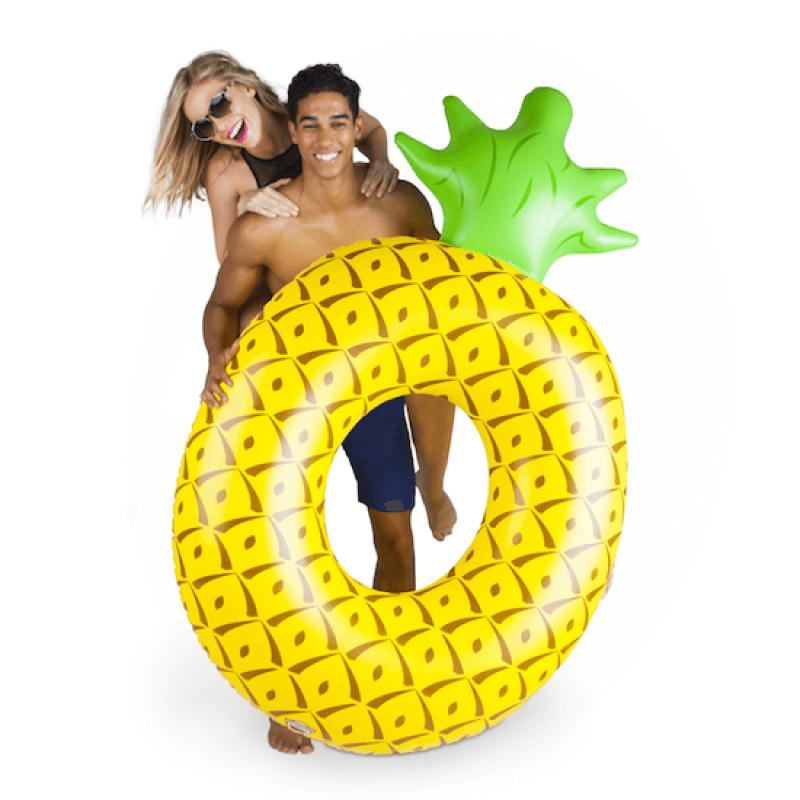 Bigmouth Koło do pływania ananas