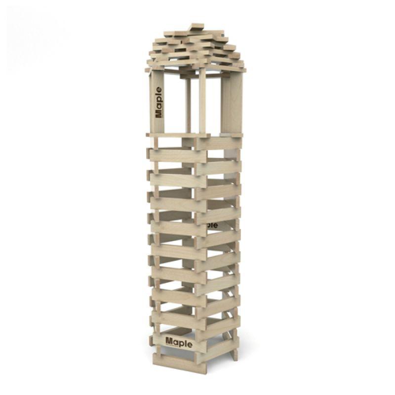 Klocki Maple worek 600 szt. drewnianych klocków