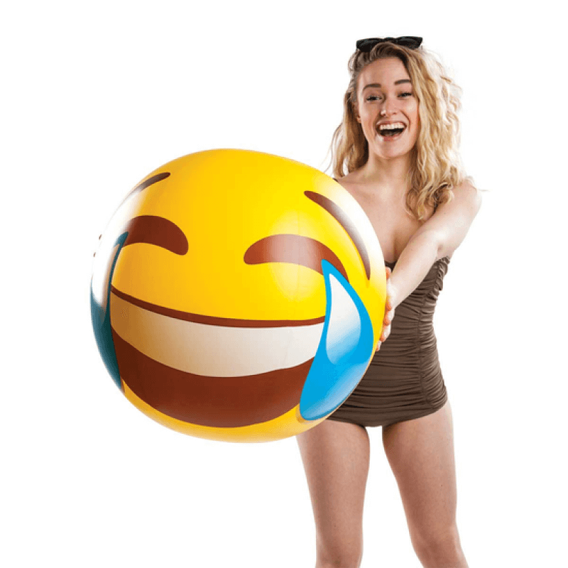 Piłka plażowa - emotikon