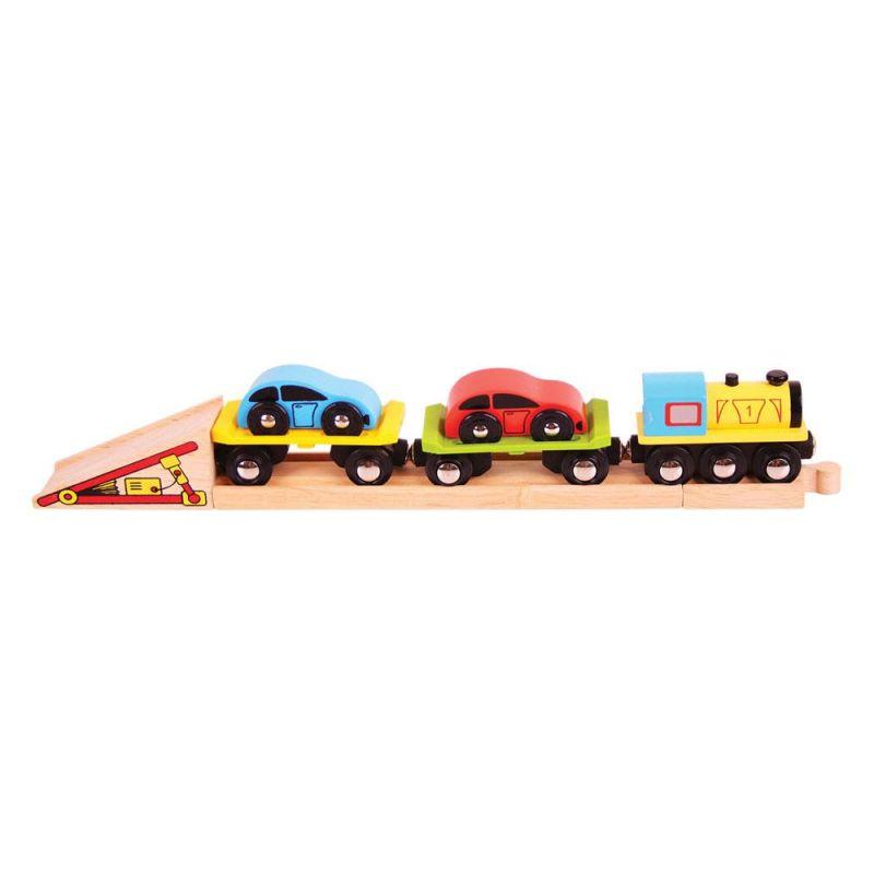 Pociąg - Laweta
