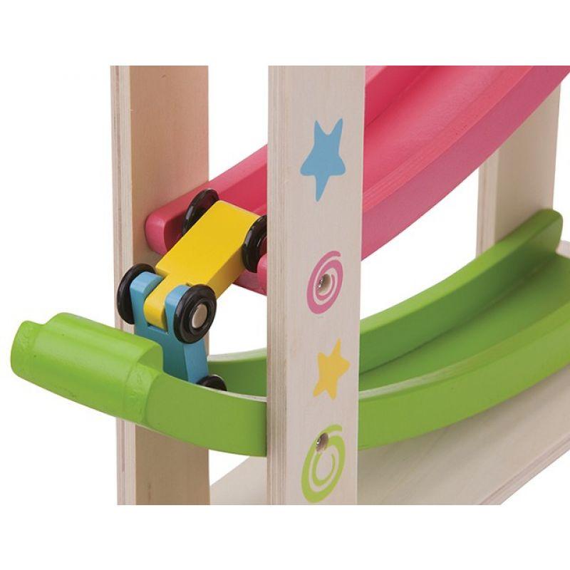 Zjeżdżalnia dla autek dla dzieci - duży car slider