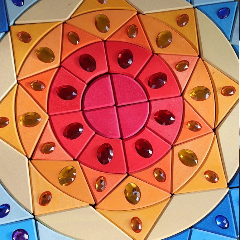 Mandala błyszcząca 3+, Grimm's