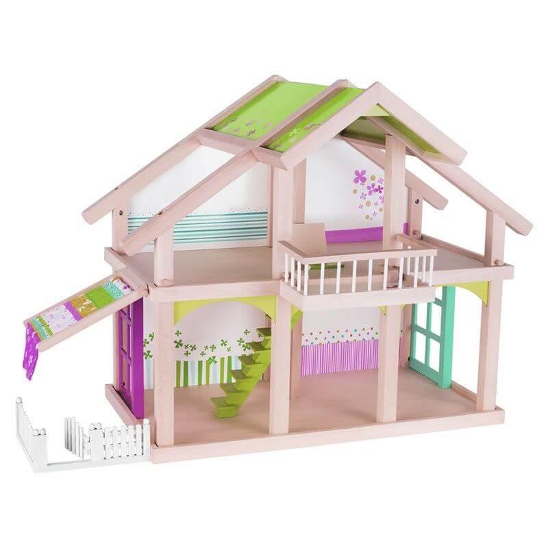 Domek z patio malowany Susibelle