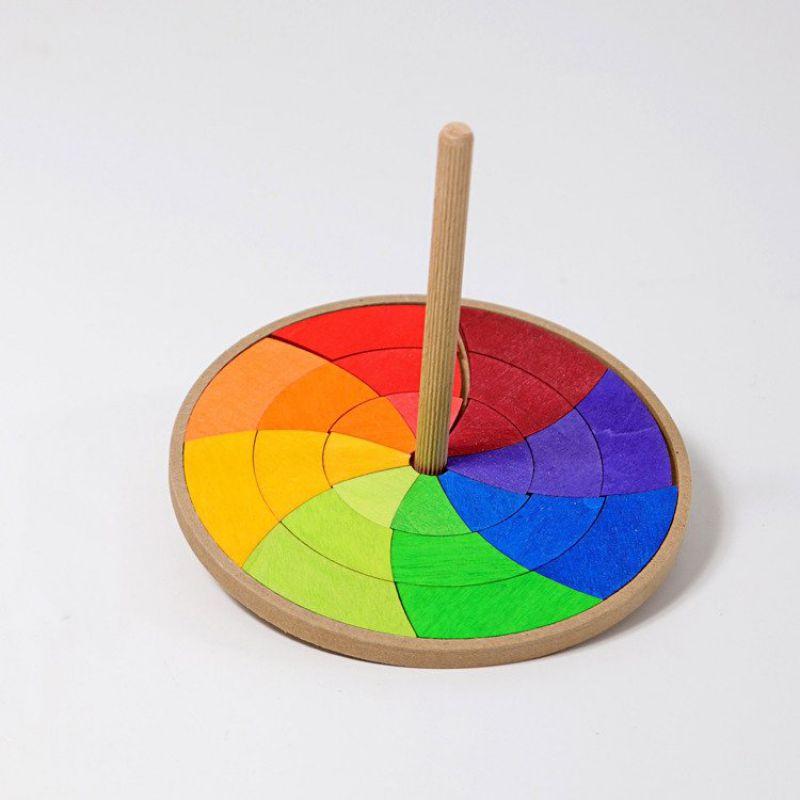 Drewniany Bączek, kolorowy, Grimm's