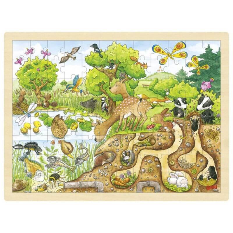 Puzzle świat przyrody