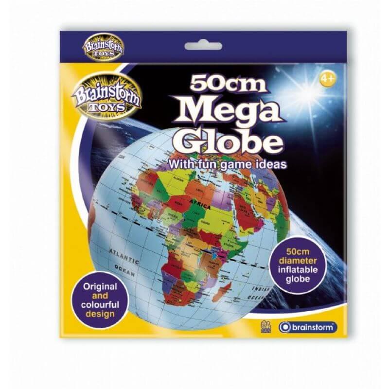 Duża piłka globus 50cm