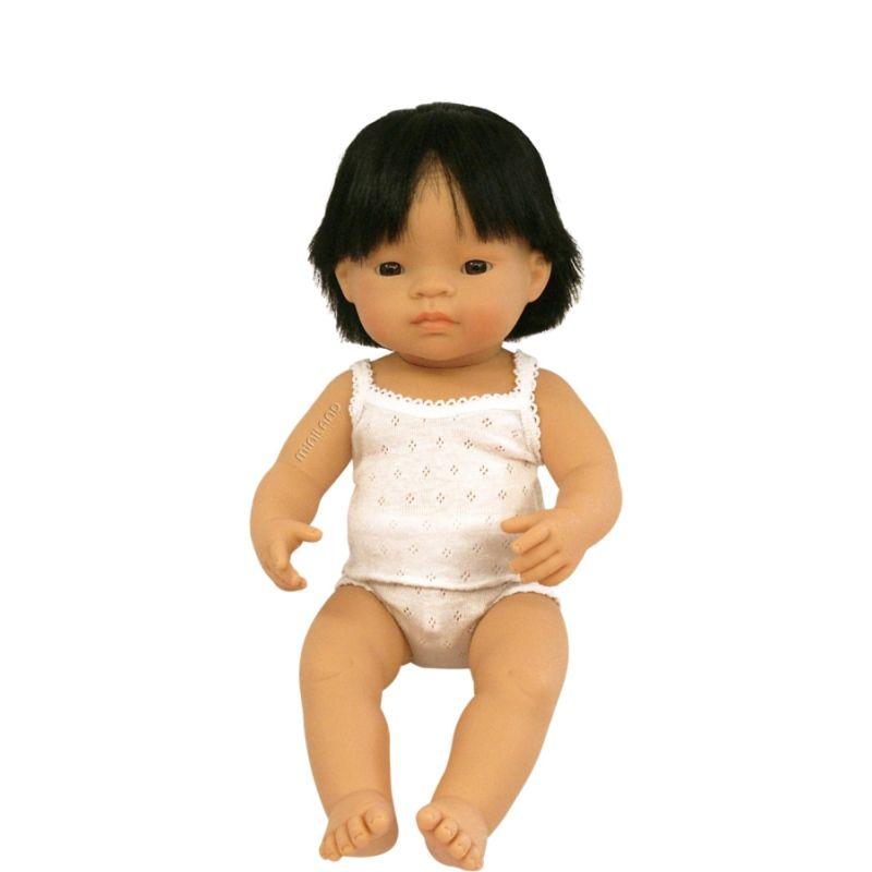 Lalka Azjata (Chłopiec) - pachnąca lalka Miniland