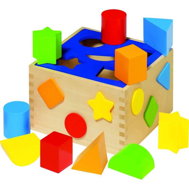 Drewniany sorter - Sort Box Goki