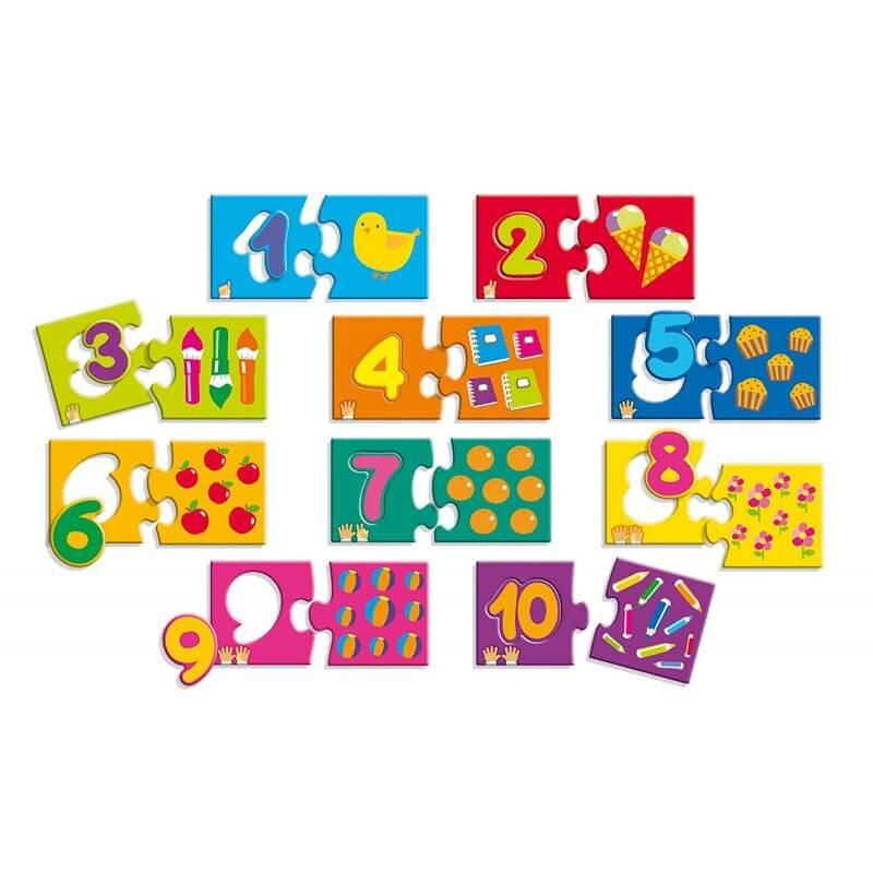 Puzzle cyferki
