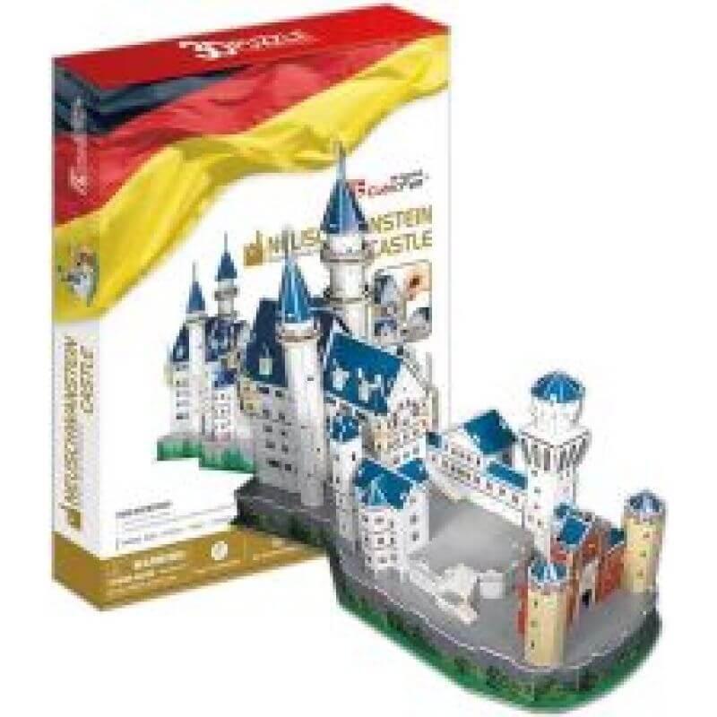 Puzzle 3D zamek Neuschwanstein