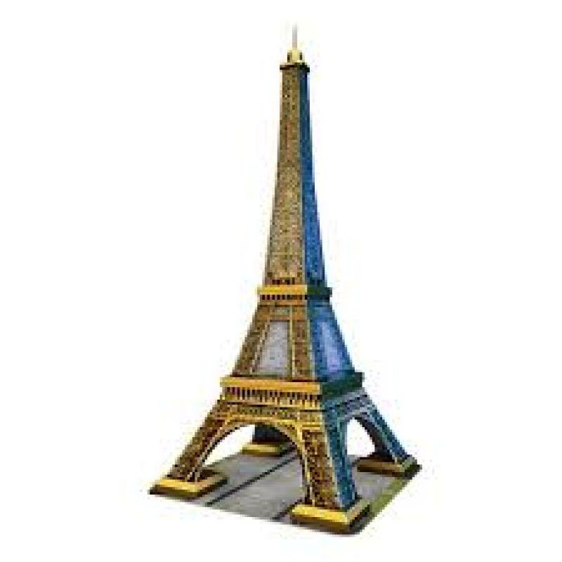 Puzzle 3D wieża Eiffel