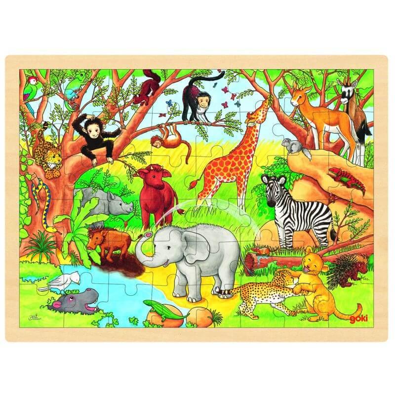 Puzzle Afryka