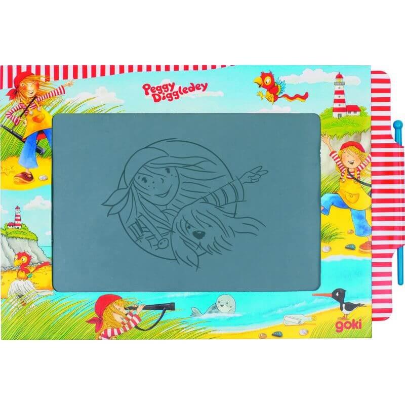 Znikopis - Magiczna tablica rysunkowa Peggy Diggledey