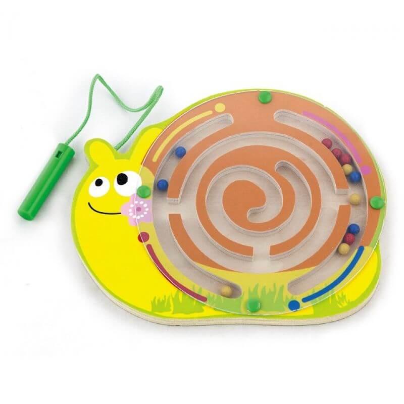 Ślimak z magnesem - gra dla dzieci