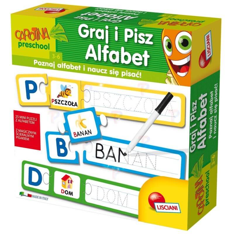 Graj i Pisz Alfabet