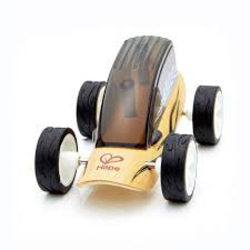 Auto Czarna wyścigówka