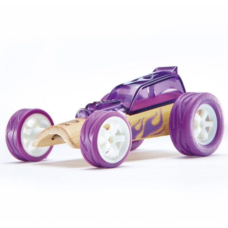 Auto Fioletowa wyścigówka