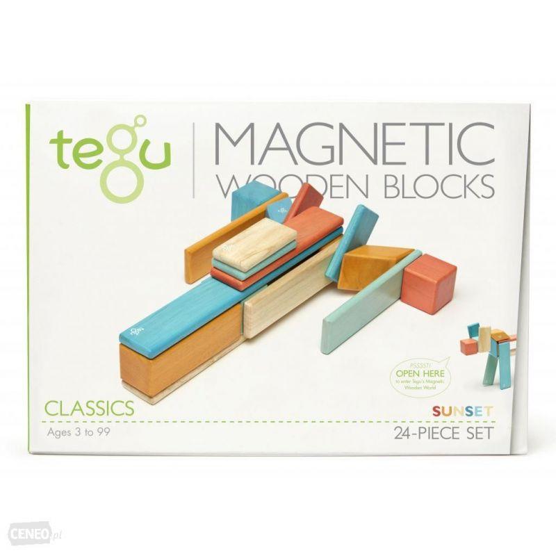 Tegu Drewniane klocki magnetyczne classics
