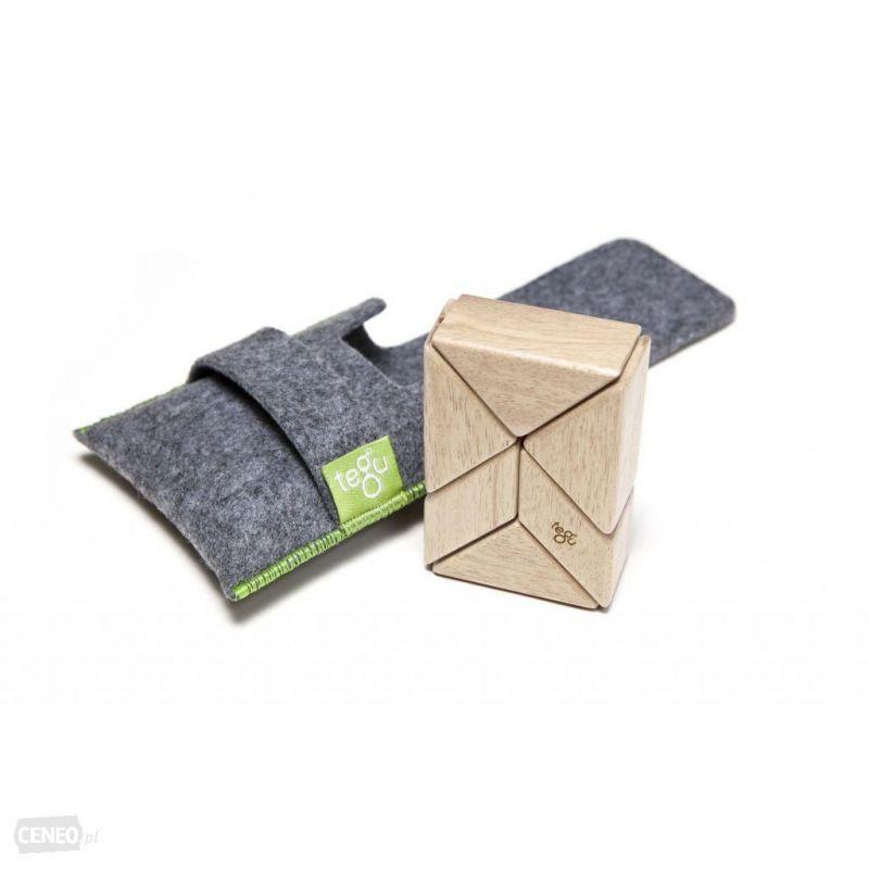 Tegu Drewniane Klocki magnetyczne Pocket Pouch Prism