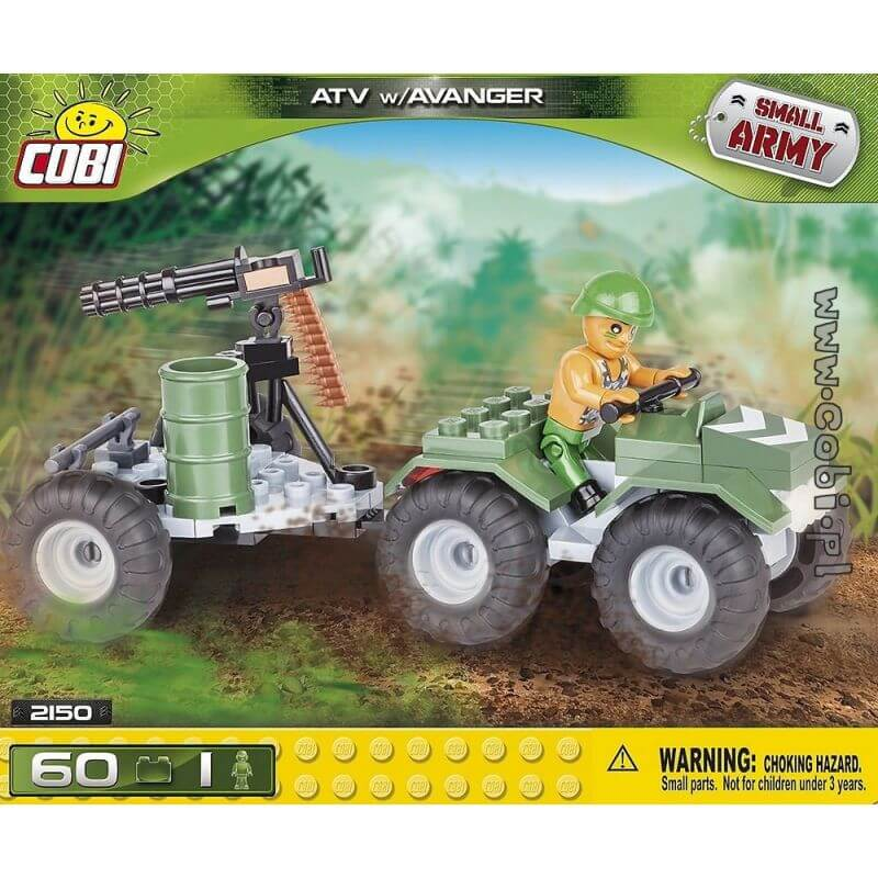 Small Army ATV Wiavanger 60 klocków
