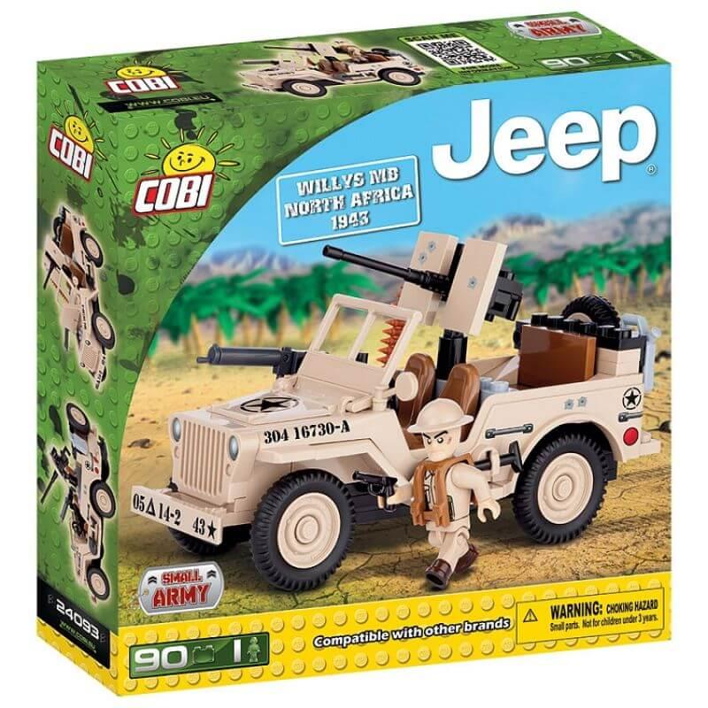 Jeep Willys MB North Africa 1943 90 klocków