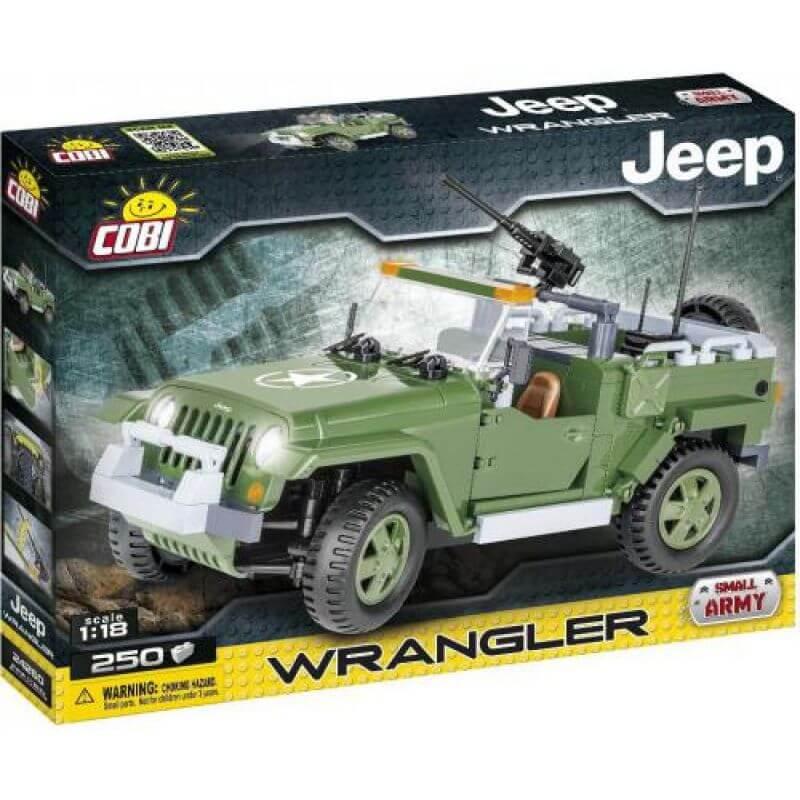 Jeep Wrangler Military 250 klocków