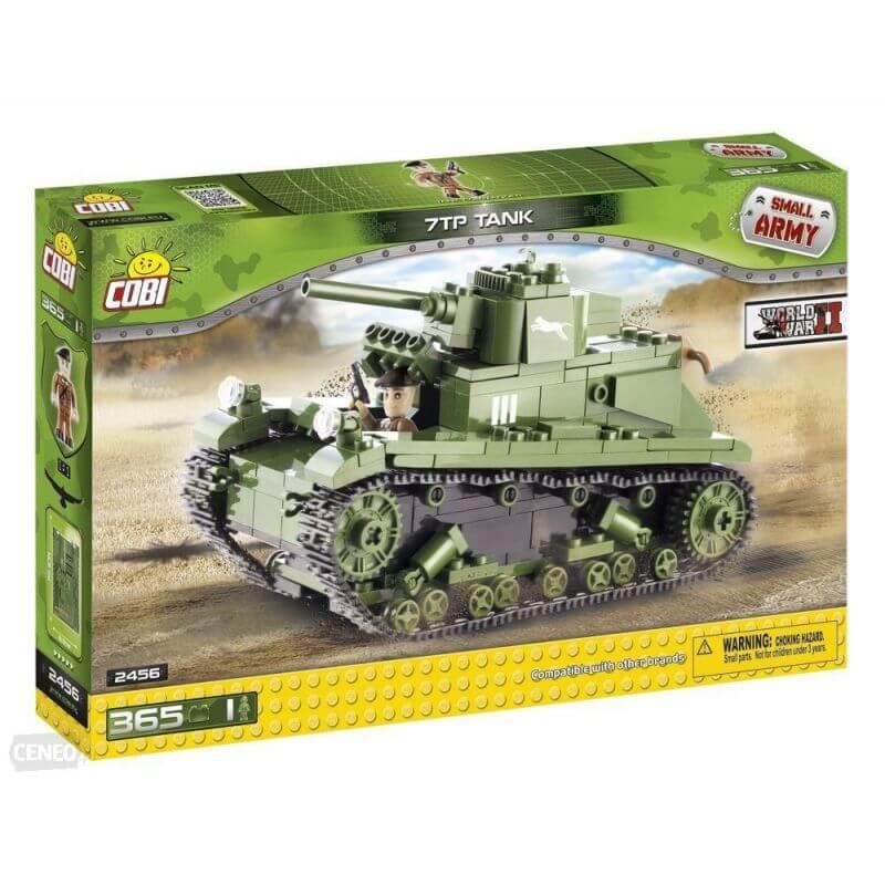 Small Army 7TP Tank 365 klocków