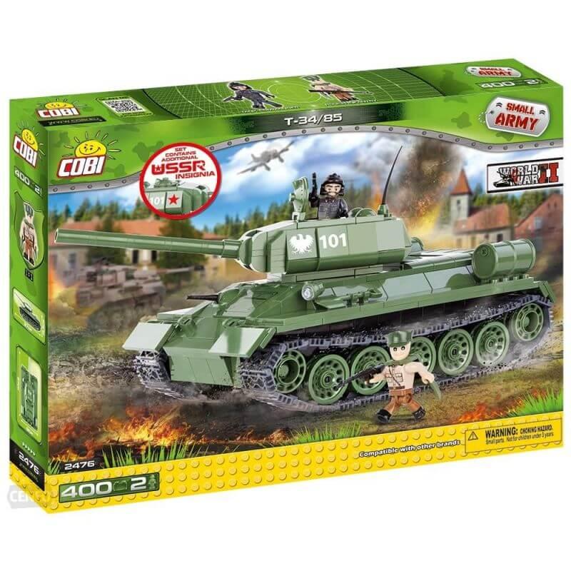 Small Army T34/85 M 1944 400 klocków