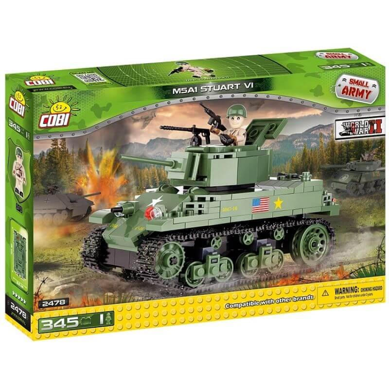 Small Army M5A1 Stuart VI 345 klocków