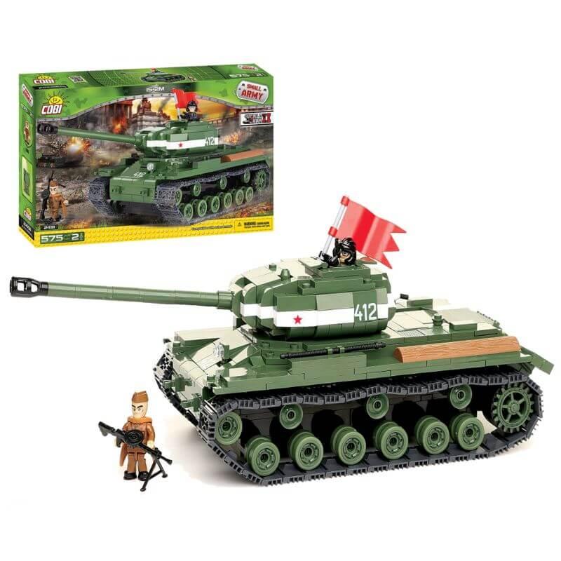 Small Army IS-2M 575 klocków