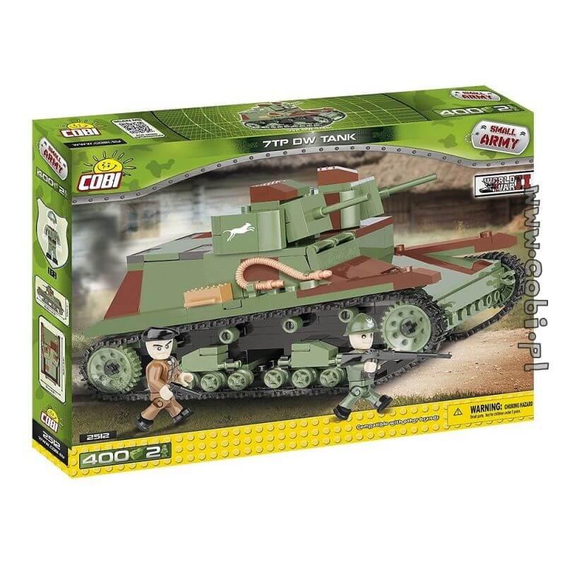 Small Army 7 TP DW Tank 400 klocków