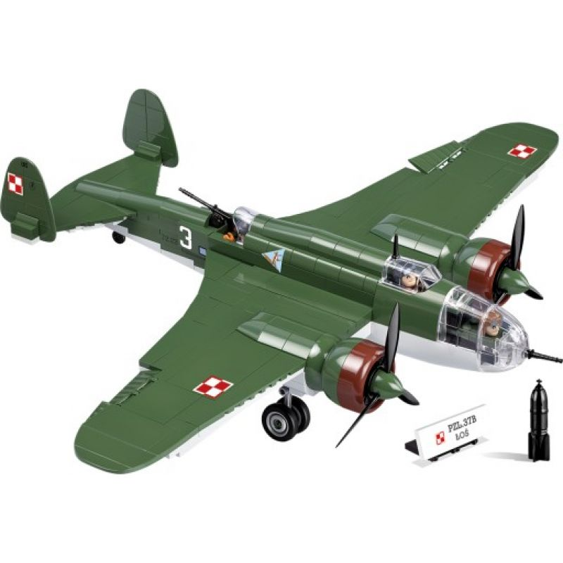 Small Army PZL P-37B Łoś