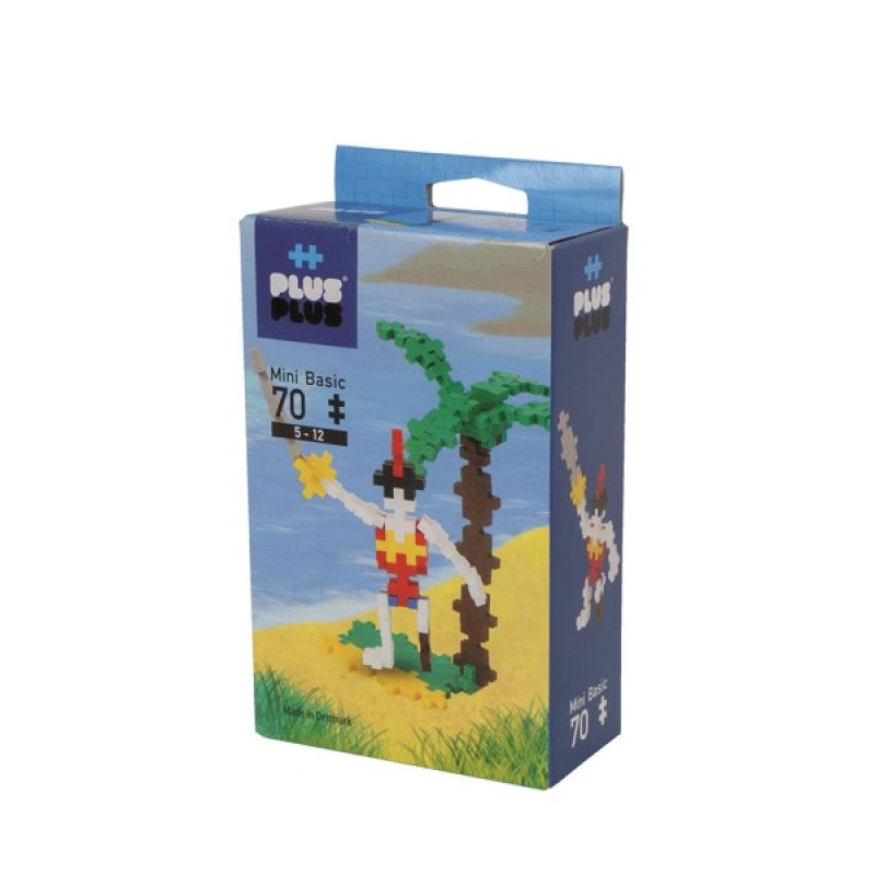 Klocki Plus-Plus 70 mini Basic PIRACI