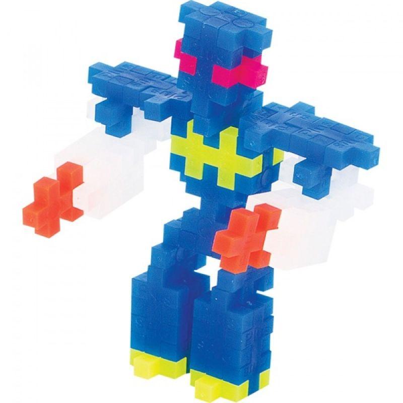 Klocki Plus-Plus 70 mini Neon ROBOTY