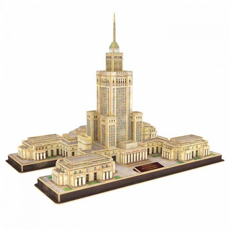 Puzzle 3D Pałac Kultury i Nauki