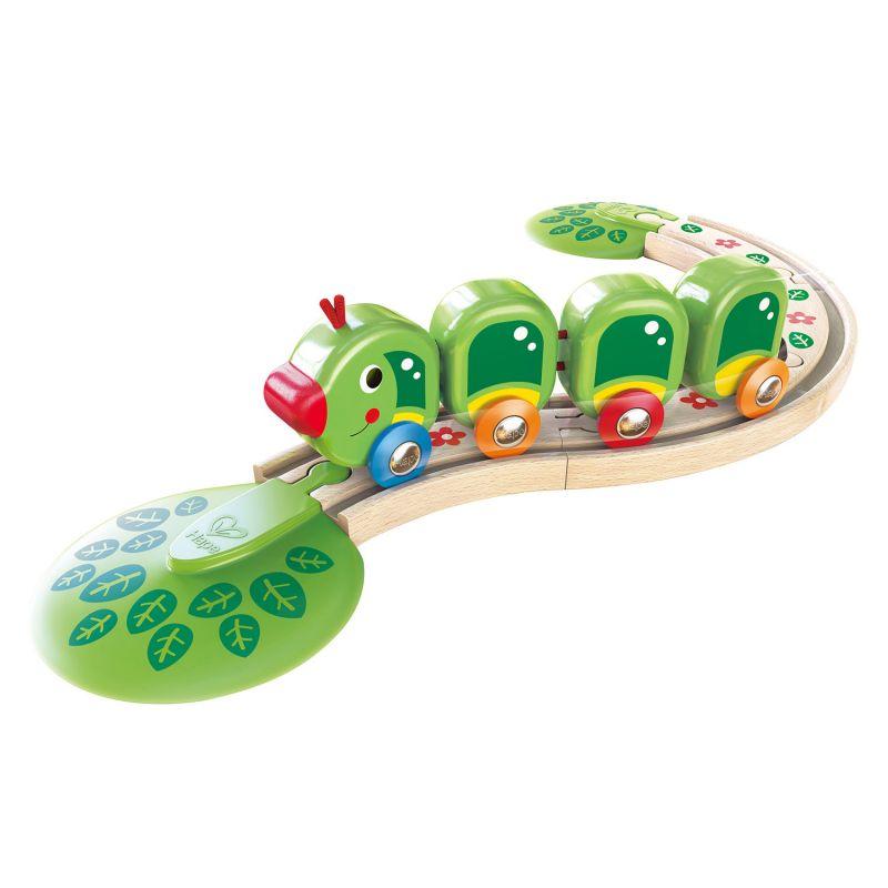 Kolejka gąsienica - zestaw kolejki dla najmłodszych dzieci