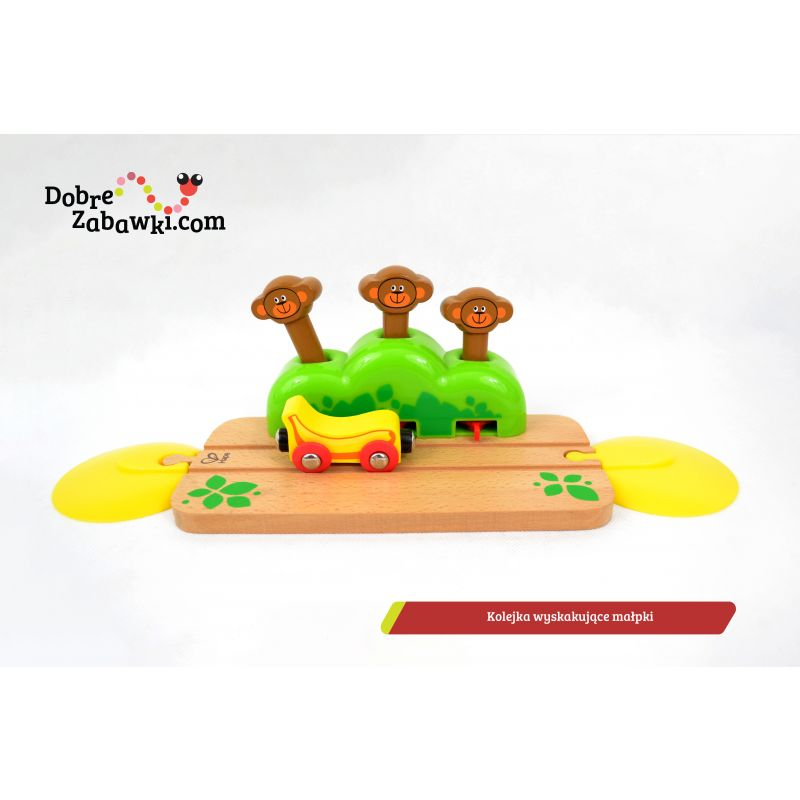 Tor z wyskakującymi małpkami