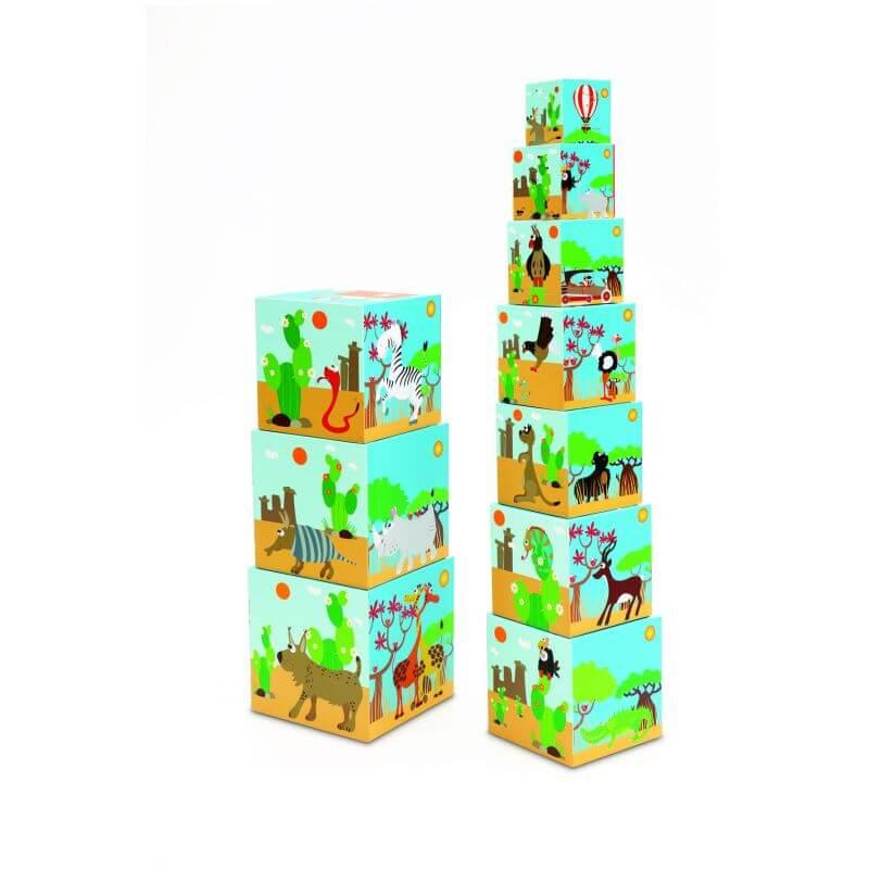 Piramida Edukacyjna Zwierzęta Świata 2