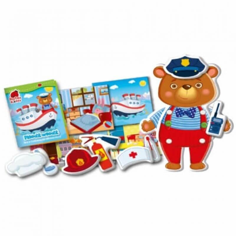 Niedźwiedź - gra dla dzieci z ruchomymi elementami