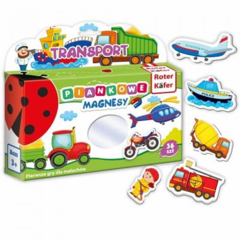 Mój mały świat magnesów - Transport