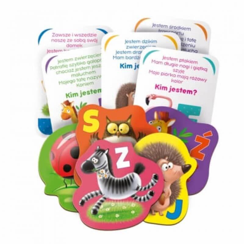 Alfabet - gra edukacyjna dla najmłodszych