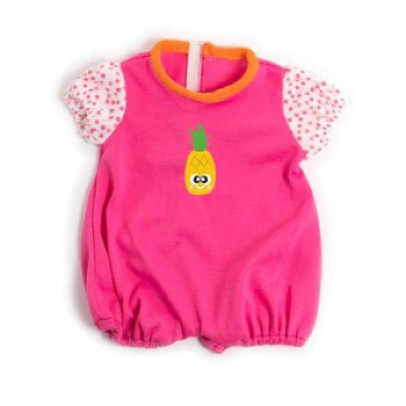 Ubranko dla lalki 40 cm różowa piżamka krótka