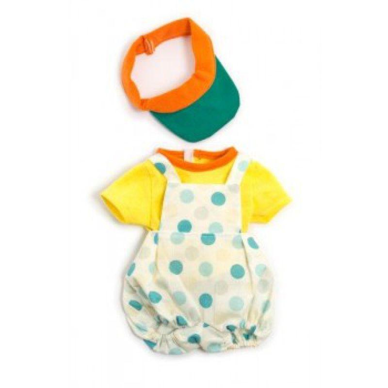 Ubranko dla lalki 40 cm letnie ubranko i daszek