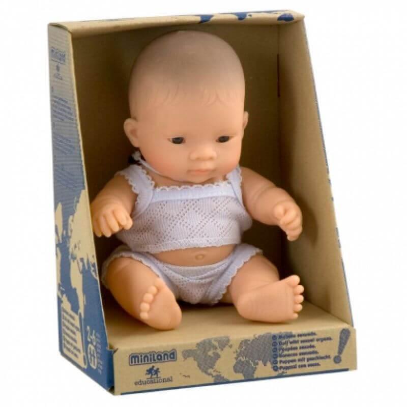 Lalka Azjatycki Chłopiec 21cm