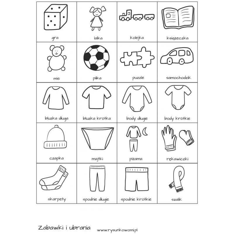 Rysunkowy świat dziecka - pomoce wspierające rozwój - PDF